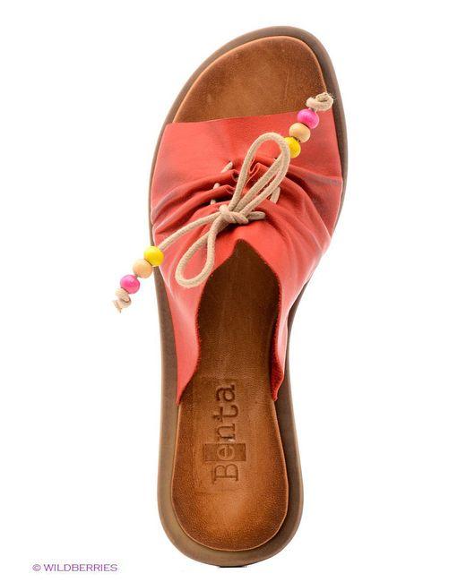 Пантолеты Benta                                                                                                              красный цвет