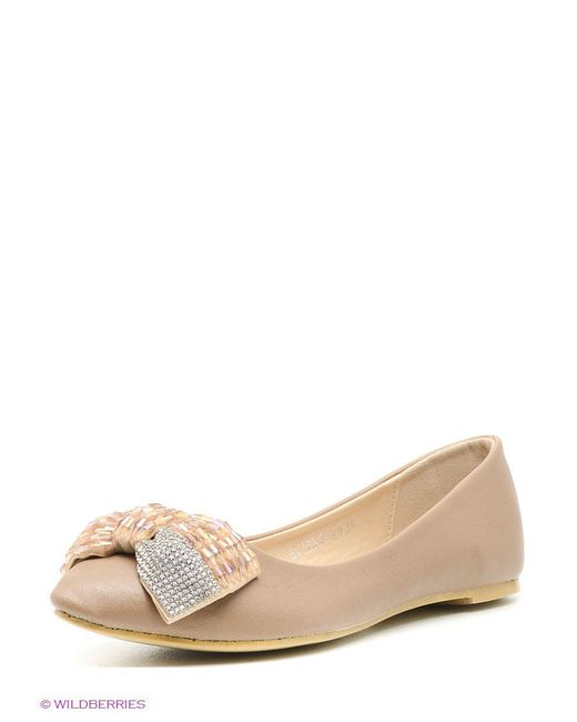 Балетки Evita                                                                                                              бежевый цвет