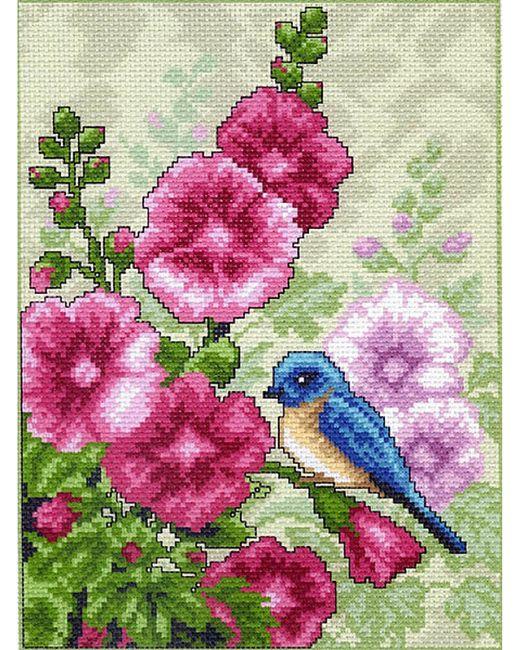 Наборы Для Вышивания Матренин Посад                                                                                                              розовый цвет
