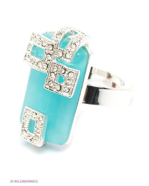 Кольца Happy Garnets                                                                                                              голубой цвет