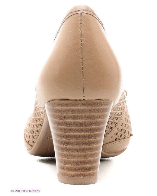 Туфли Francesco Donni                                                                                                              бежевый цвет