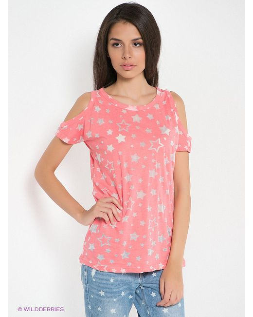 Футболки Kira Plastinina                                                                                                              розовый цвет