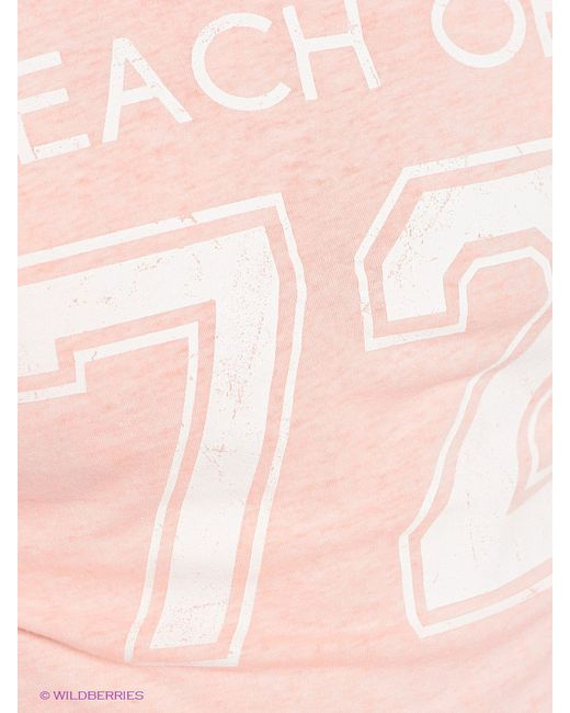 Футболки Oodji                                                                                                              розовый цвет