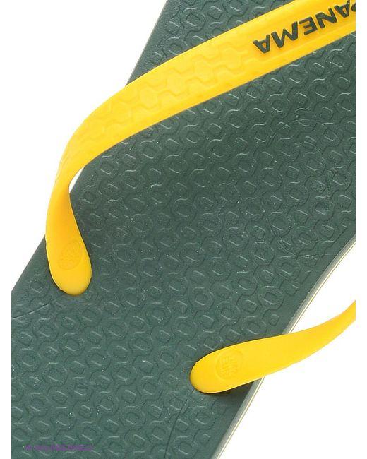 Шлепанцы Ipanema                                                                                                              желтый цвет