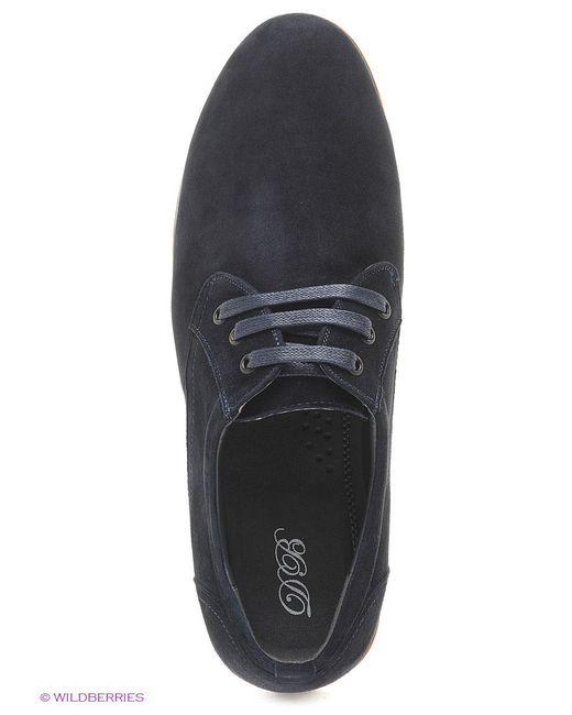 Ботинки Daniela Bernardi                                                                                                              синий цвет