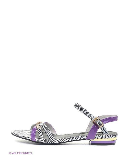 Сандалии Inario                                                                                                              фиолетовый цвет