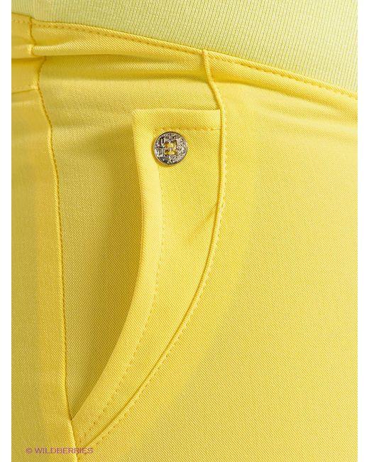 Брюки UNIOSTAR                                                                                                              желтый цвет