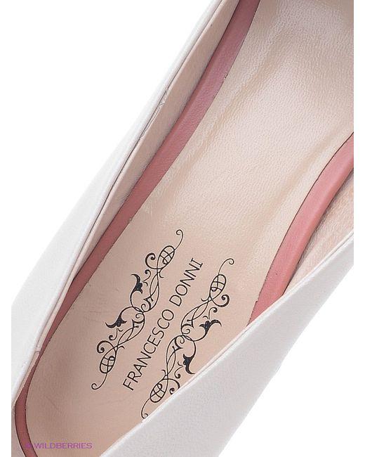 Туфли Francesco Donni                                                                                                              розовый цвет