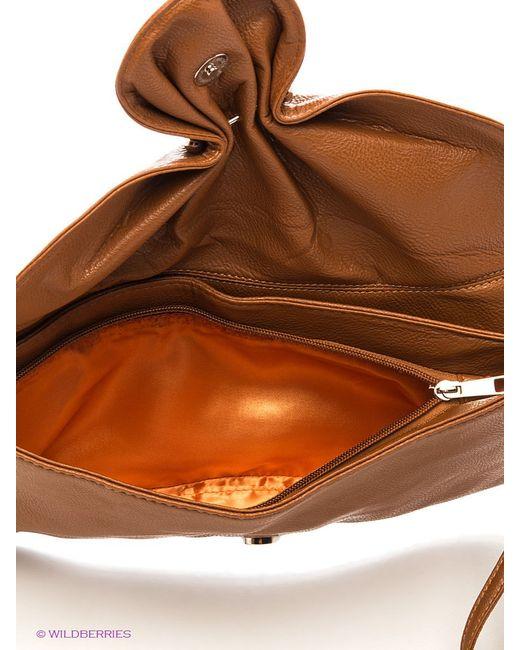 Клатчи Модные истории                                                                                                              коричневый цвет