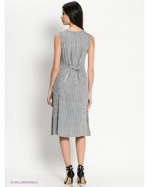 Платья Venera                                                                                                              серый цвет