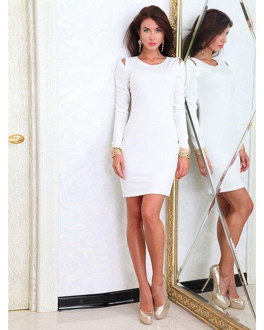 Платья Lussotico                                                                                                              белый цвет