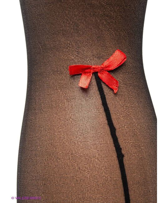 Чулки Coquette Lingerie                                                                                                              чёрный цвет