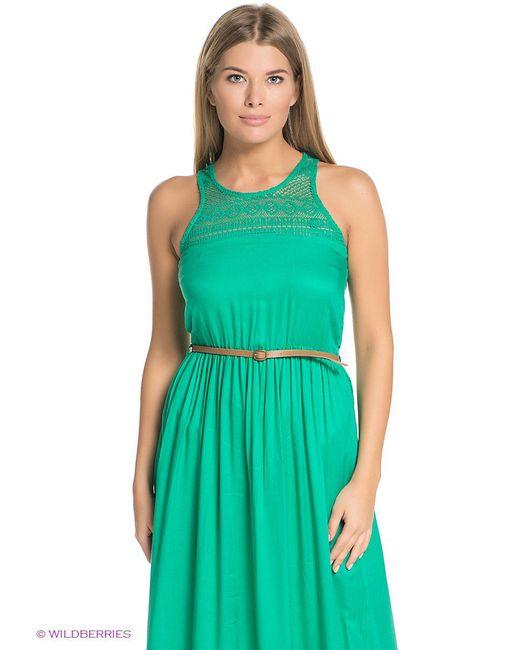 Платья ТВОЕ                                                                                                              зелёный цвет