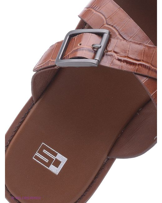 Шлепанцы Calipso                                                                                                              коричневый цвет