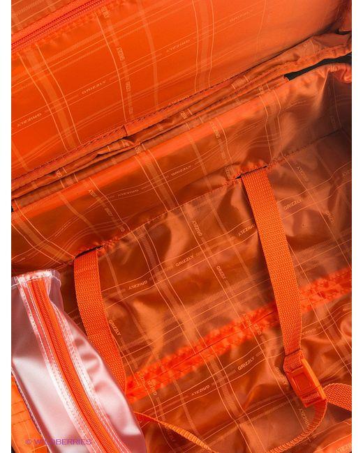 Сумки Grizzly                                                                                                              оранжевый цвет
