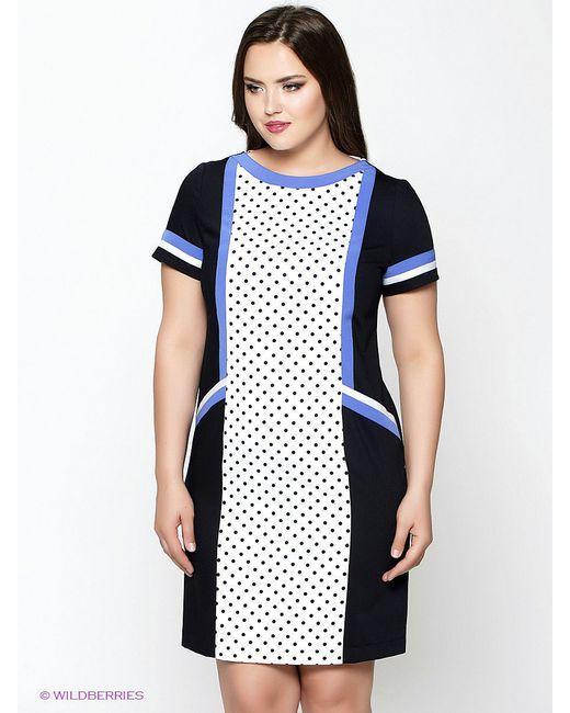 Платья Amelia Lux                                                                                                              синий цвет