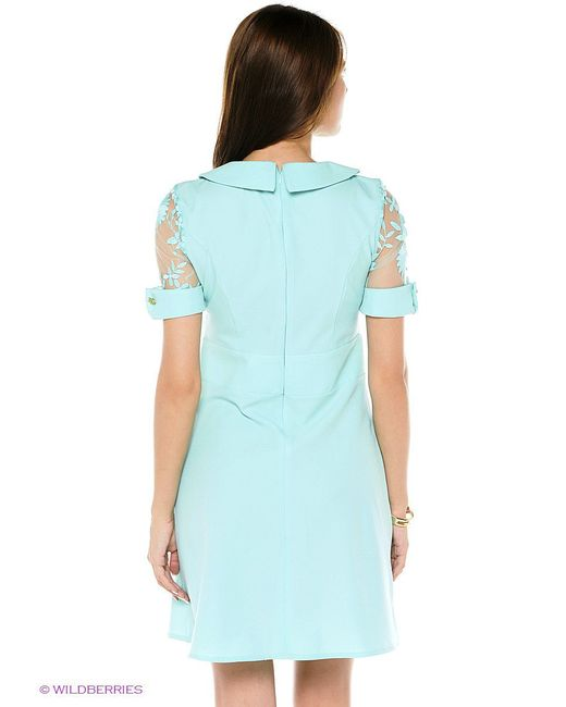 Платья TOPSANDTOPS                                                                                                              голубой цвет