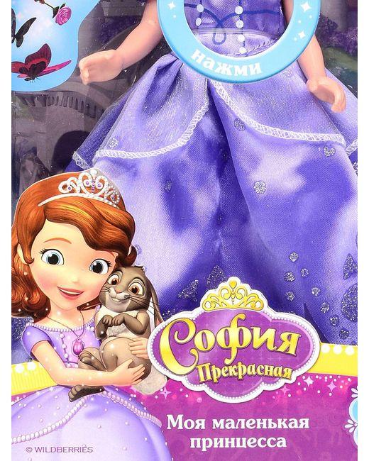 Кукла Disney Принцесса. Cофия Карапуз                                                                                                              фиолетовый цвет