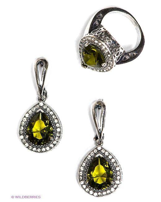 Комплекты Бижутерии Happy Garnets                                                                                                              зелёный цвет