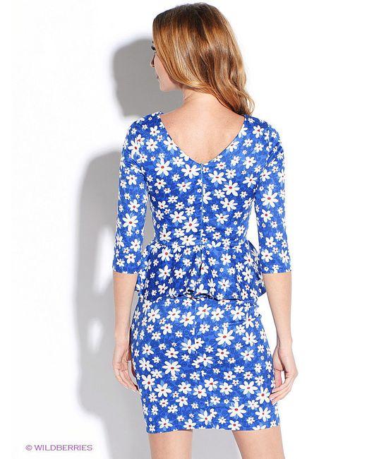 Платья Tutto Bene                                                                                                              синий цвет
