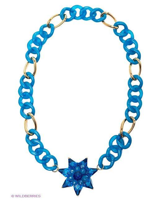 Колье Lastoria                                                                                                              голубой цвет