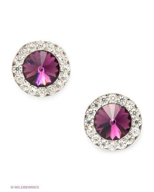 Ювелирные Серьги NAVELL                                                                                                              фиолетовый цвет