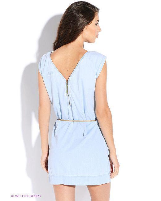 Платья Tommy Hilfiger                                                                                                              голубой цвет