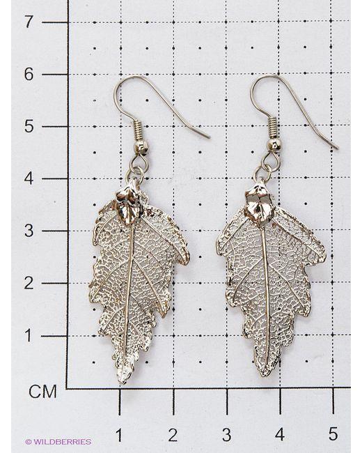 Серьги Ester Bijoux                                                                                                              серебристый цвет