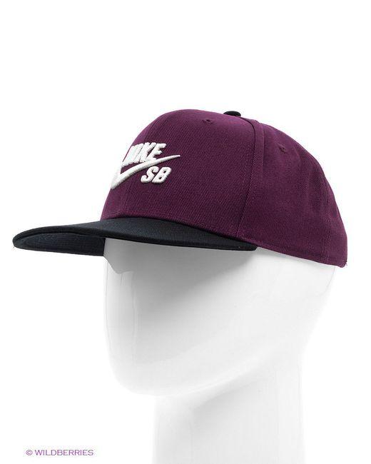 Бейсболки Nike                                                                                                              фиолетовый цвет