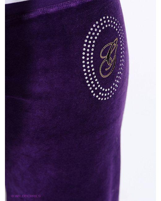 Брюки Oodji                                                                                                              фиолетовый цвет