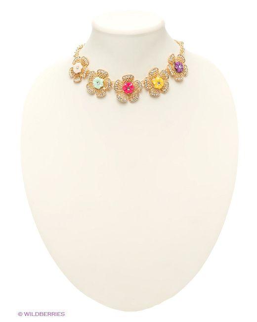 Колье Lovely Jewelry                                                                                                              Золотистый цвет