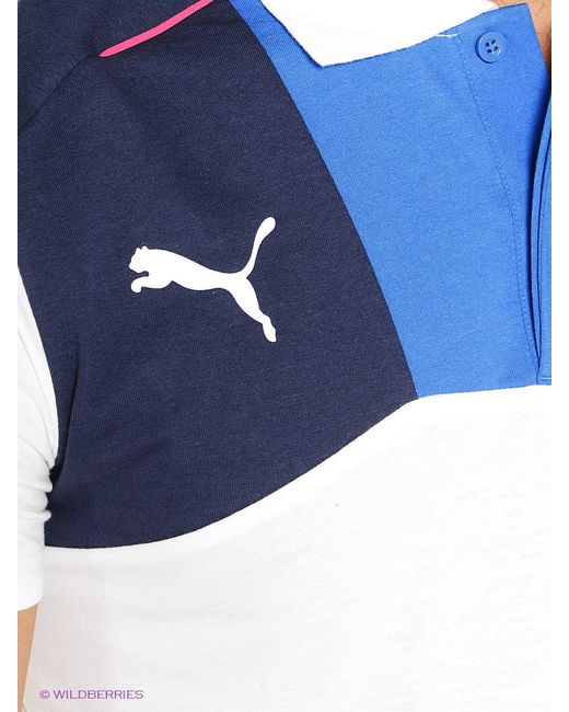 Поло Puma                                                                                                              белый цвет