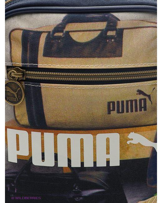 Сумки Puma                                                                                                              синий цвет