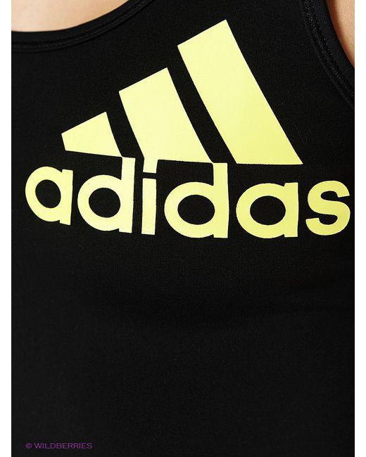Топ Adidas                                                                                                              чёрный цвет