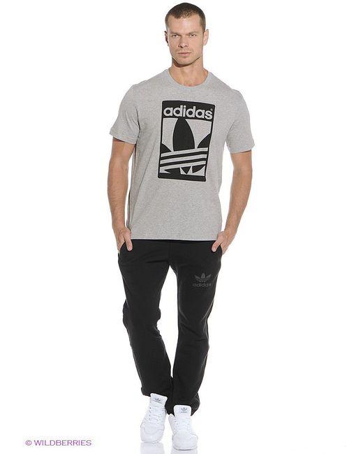 Футболка Adidas                                                                                                              серый цвет