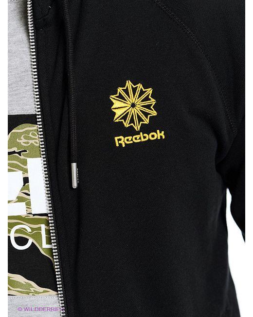 Толстовки Reebok                                                                                                              чёрный цвет