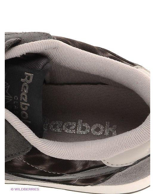 Кроссовки Reebok                                                                                                              серый цвет