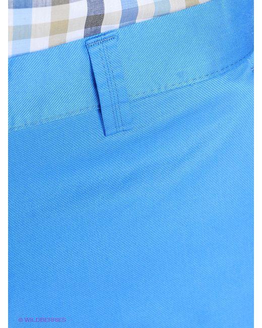 Брюки BAWER                                                                                                              голубой цвет