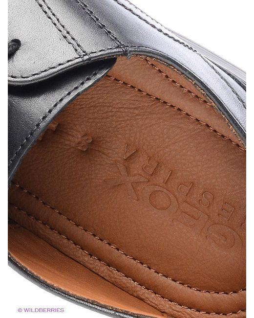Ботинки Geox                                                                                                              чёрный цвет