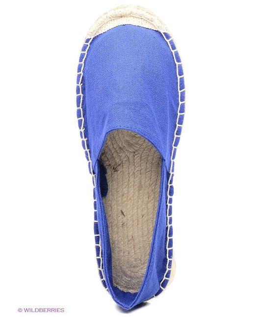 Эспадрильи Incity                                                                                                              синий цвет