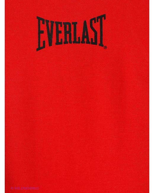 Майки Everlast                                                                                                              красный цвет