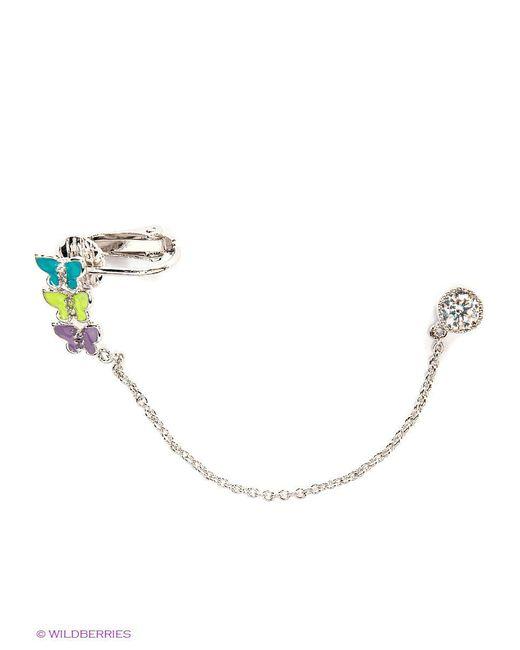 Серьги Royal Diamond                                                                                                              серебристый цвет