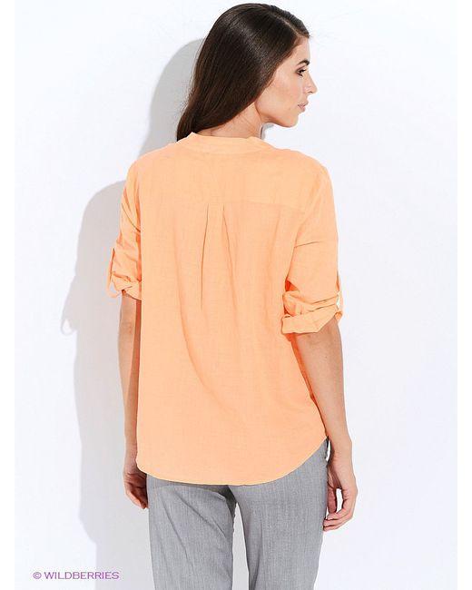 Блузки Oodji                                                                                                              Персиковый цвет