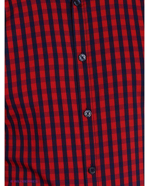 Рубашки Oodji                                                                                                              красный цвет