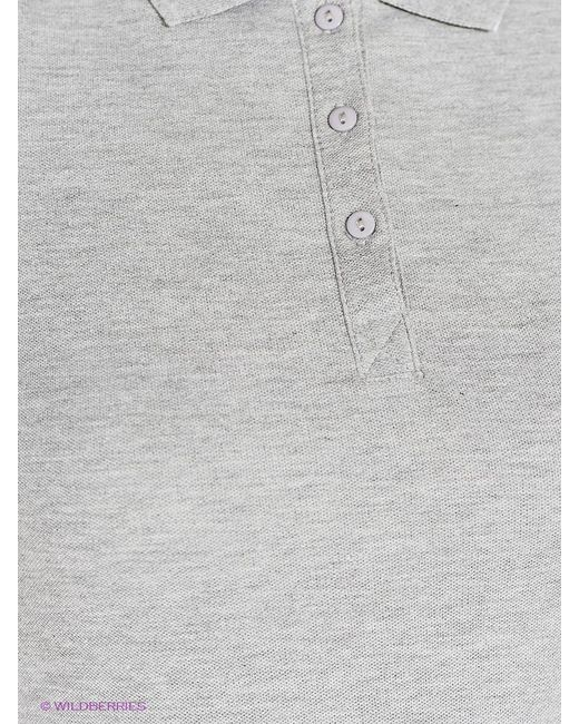 Футболки-Поло Oodji                                                                                                              серый цвет