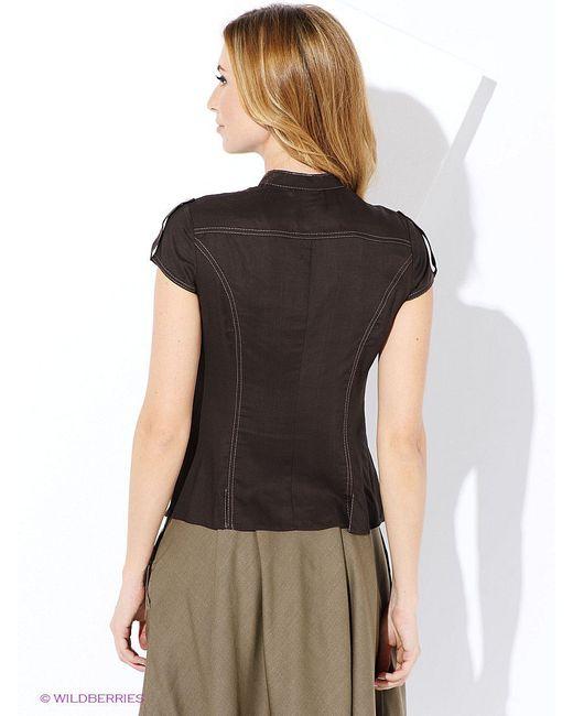 Блузки Виреле                                                                                                              коричневый цвет