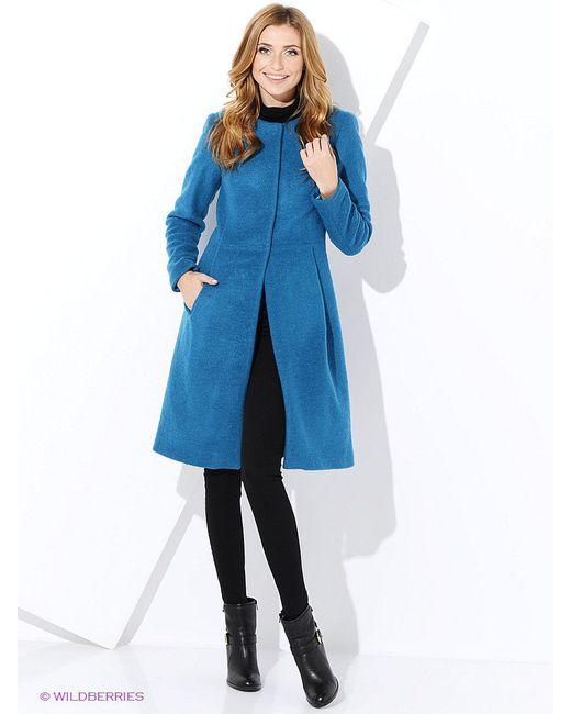 Пальто Imago                                                                                                              Бирюзовый цвет