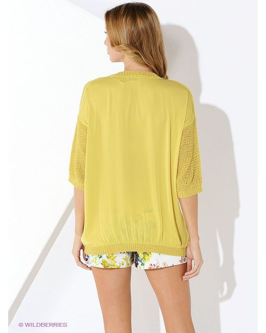 Джемперы Malvin                                                                                                              желтый цвет