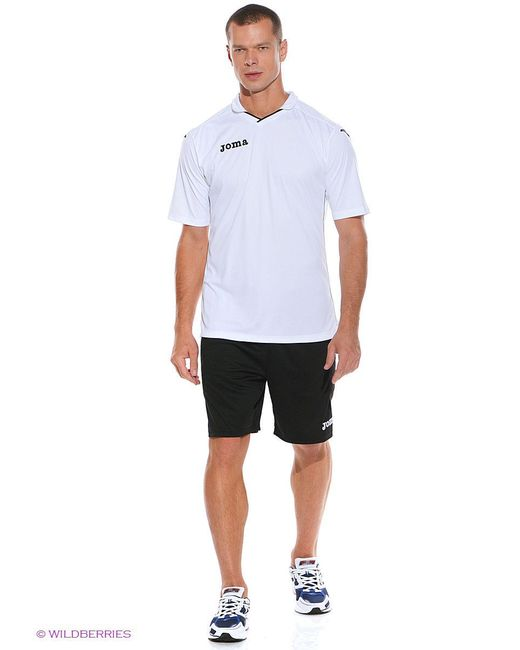 Футболки Joma                                                                                                              белый цвет