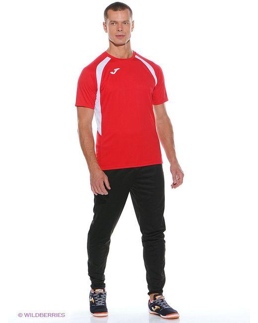 Футболки Joma                                                                                                              красный цвет